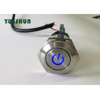 Quality Stainless Steel Push Button Switch LED Illuminated Power Type Long Service Life for sale