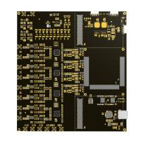 China Black 94v0 FR4 Multilayer PCB 4 Layer / 6 Layer Electronics Circuit Board on sale