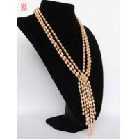 Quality Fashion Pink Wedding Freshwater Pearl Necklace for sale