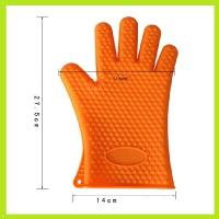 heat resistant flexible silicone finger glove silicone oven mitts