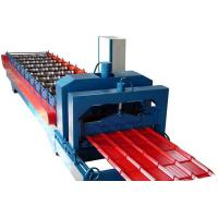 Buy cheap Automatic 860 IBR Trapezoidal Roof Sheet Making Machine 9-16 Rows Hydraulic from wholesalers