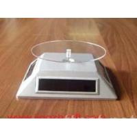 Quality Motion Solar Powered Turntable, Moving POP Display Stand for sale