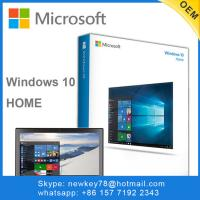 Quality X64 Upgrade Windows 10 Home Oem To Pro 3.0 Dvd USB Flash Drive Boxed for sale