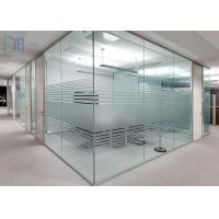 ... Buy Clear Living Room Glass Office Partitions , Aluminium Partition Wall  For At Wholesale Prices ...