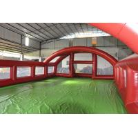 Quality Outdoor Inflatable Soccer Field , Inflatable Soap Soccer Field for Sport Game for sale