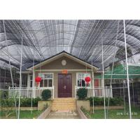 China Environmental Friendly Light Steel Prefabricated House Easy To Built on sale