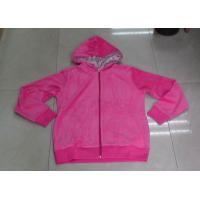 Quality Pink Ladies' Hoodie 100%Polyester Micro Fleece Ladies Pajama Sets for sale