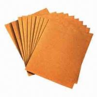 Quality Flint Sandpapers with Silica/Glass Abrasive, Double Glue Binder and C Paper Backing  for sale