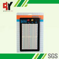Quality ABS Plastic Experiment Solderless Prototyping Breadboard with 1500 Points for sale