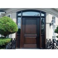 China Entry Ash Double Solid Wood Doors Wood Color Design With Top Chinese Brand Hardware on sale