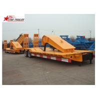 Quality Stable Loading Heavy Duty Semi Trailers Leaf Spring Suspension With Anti - Slip Strip for sale
