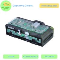 Quality motorized card reader/writer with Sam slot RS232 / USB interface ATM EMV card reader for sale