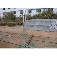 China Professional Temporary Chain Link Fence Galvanized Wire ISO9001 CE Listed on sale