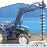 Quality Best price 4 wheel tractor mounted hole digger Tractor with Auger for sale