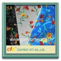 Quality Waterproof Eco friendly Auto Upholstery Fabric / pretty printing Pp Non woven Fabric for sale