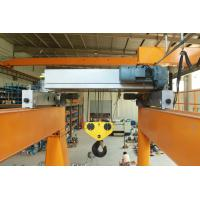 Quality 10T Double Girder Electric Wire Rope Hoist Low Headroom Crane European Design for sale