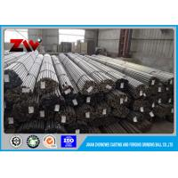 Quality Water quenching heat Cement plants Use grinding rods in rod mill 60Mn  / 45# for sale