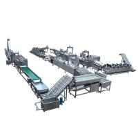 Quality Full Automatic Potato Chips Making Machine Frozen French Fries Machinery for sale