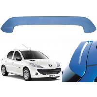 Quality Professional PEUGEOT 206 Hatchback Car Roof Spoiler 136*12*42cm Size for sale