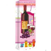 Quality Hiqh quality custom paper material for shopping wine bag for sale
