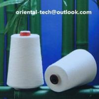 Quality bamboo fiber yarn for knitting or for weaving eco-friendly and good quality for sale