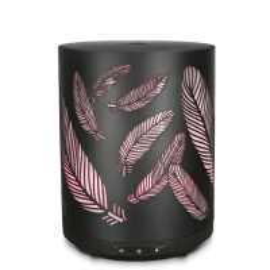 Quality 12w 260ml Ultrasonic Metal Aroma Diffuser Mini Essential Oil Diffuser for sale