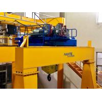 Quality Double Girder Wire Rope Mini Electric Hoist / Winch With Trolley In Yellow for sale
