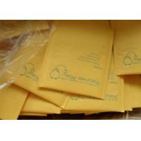 Quality Yellow Kraft Bubble Mailer ,Kraft Paper Bubble Padded Mailers for sale