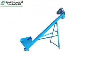China Animal Feeding 220V 380V Grain Screw Conveyor on sale