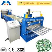 Quality Aluminium Roofing Sheet IBR Roof Panel Roll Forming Machine With PLC Control for sale