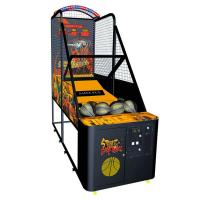 Quality Eletroinc Coin Basketball Arcade Machine With Plastic Cabinet 8 PCS NA-QF057 for sale