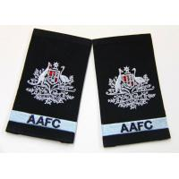 Quality Handmade Custom Embroidered Patches PVC Backing shoulder patches for sale