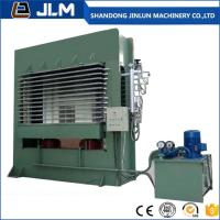 Buy china shandong jinlun brand hot sell good quality 400t .500t 15 layer plywood making machine Hydraulic hot Press machine at wholesale prices