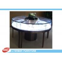 Quality Customized MDF Retail Round Display Table For Jewelry Showing , SGS ISO for sale