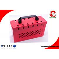 Quality Portable Foldable handle Steel Safety Group Lockout Box Kit ZC-X02S for sale