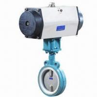 Quality High Performance PFA Lined Butterfly Valve for sale