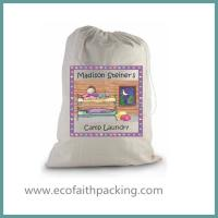 Quality hotel laundry bag with drawstring for sale