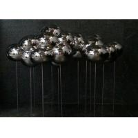 Quality Polished Stainless Steel Sculpture Cloud Art Modern Home Decoration Forging Technique for sale