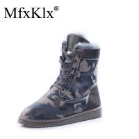Quality 2017 new style women ankle snow boots warm ladies winter shoes platform shoes for sale
