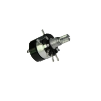 China B500K WH137 rotary potentiometer with switch for ceiling fan control speed control led light control Bangladesh on sale
