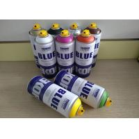 Quality Graffiti Low Pressure Spray Can For Canvas / Wood / Concrete / Metal / Glass Surface for sale