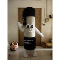 Quality round ball pen mascot costume/customized fur product replicated mascot costume for sale