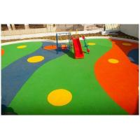 China Colored EPDM Rubber Granules Flooring UV Resistance ISO Approved on sale