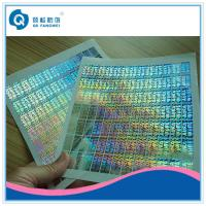 Quality Tamper Evident Custom Hologram Stickers ,  Customized 2D / 3D Hologram Stickers for sale