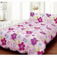 Quality Printed Feather Down Quilt, Made of 233 TC and 100% Cotton, Measures 68 x 88-inch for sale