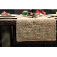 China synthetic raffia,microfiber,11.8*59inch,Silver,Grey,Washable Plastic Synthetic Grass Table Runners For Square on sale