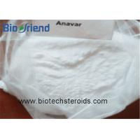 Quality Androgenic Anabolic Steroids Anavar Oxandrolone White Crystalline Powder CAS 53-39-4 for sale