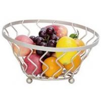 China Fashion Kitchen accessory Gift Basket,Wire Fruit Holder,Hanging Metal Fruit Basket on sale