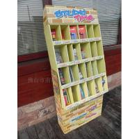 Buy Multilayer Magazine Paper Display Stand , Colorful Cardboard Newspaper Stands at wholesale prices