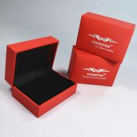 Quality Wedding Ring Box Jewelry Double Ring Case Jewellery Packaging Boxes for sale